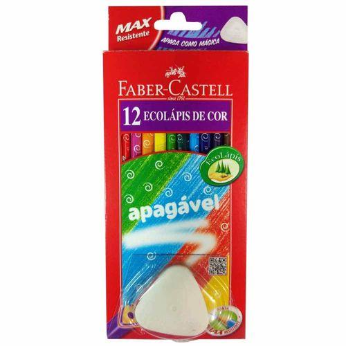 Lapis-de-Cor-12-Cores-Apagavel-Faber-Castell