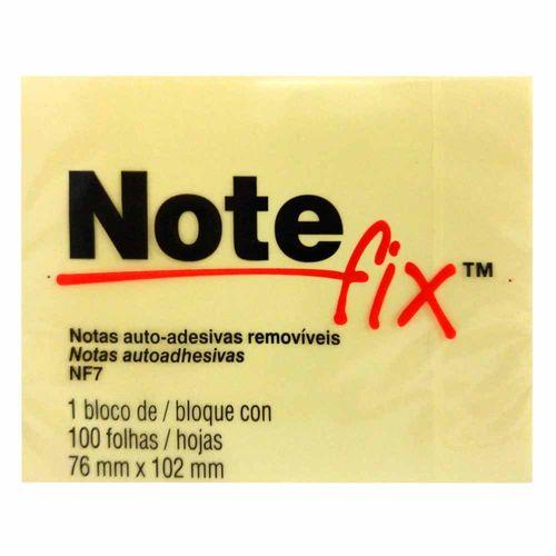 Bloco-Adesivo-Notefix-3M-76x102mm-Amarelo-100-Folhas