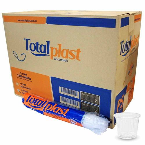 Copo-Descartavel-50ml-Totalplast-5000-Unidades