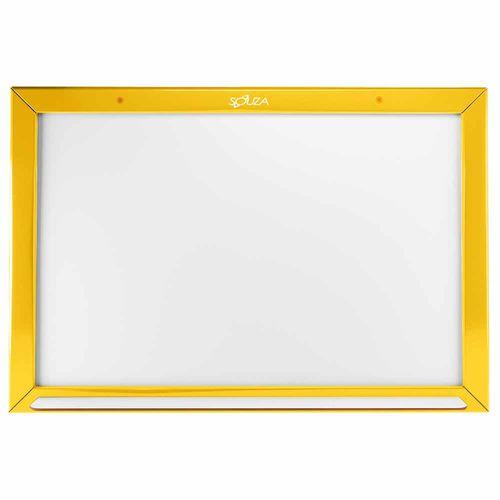 Quadro-Branco-Standard-Madeira-40x60cm-Souza-Amarelo