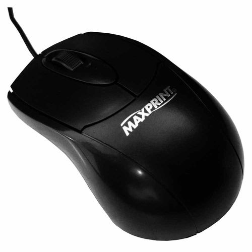 Mouse-Optico-800-DPI-USB-Maxprint-Preto