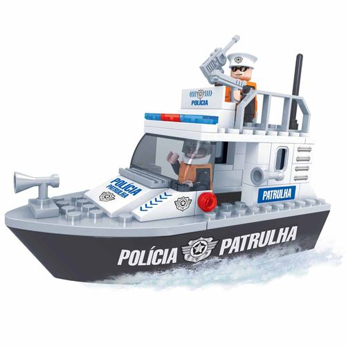 Blocos-de-Montar-Click-it-Barco-Policial-83-Pecas-Play-Cis