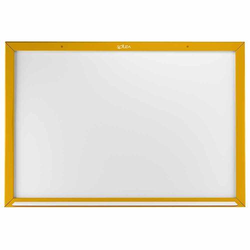 Quadro-Branco-Standard-Madeira-60x90cm-Souza-Amarelo