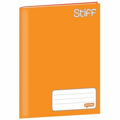 Caderno-Brochurao-Jandaia-Stiff-96-Folhas-Capa-Dura-Laranja