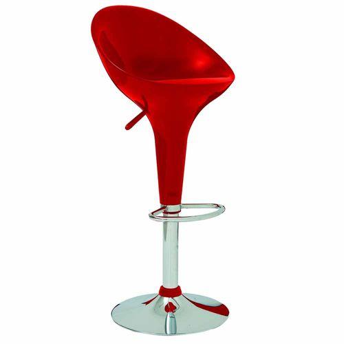 Banqueta-Tulipa-Lotus-Assento-em-ABS-Vermelha-com-Encosto-Mor
