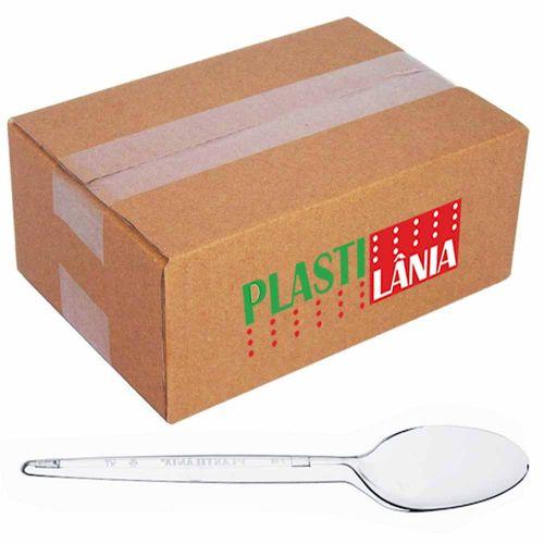 Colher-Plastica-Refeicao-Plastilania-Cristal-1000-Unidades
