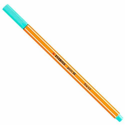 Caneta-Stabilo-Point-8813-Fine-0.4-Verde-Agua