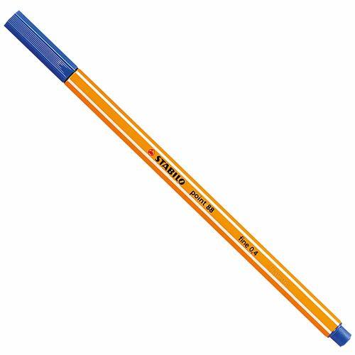 Caneta-Stabilo-Point-88-41-Fine-0.4-Azul-Escuro