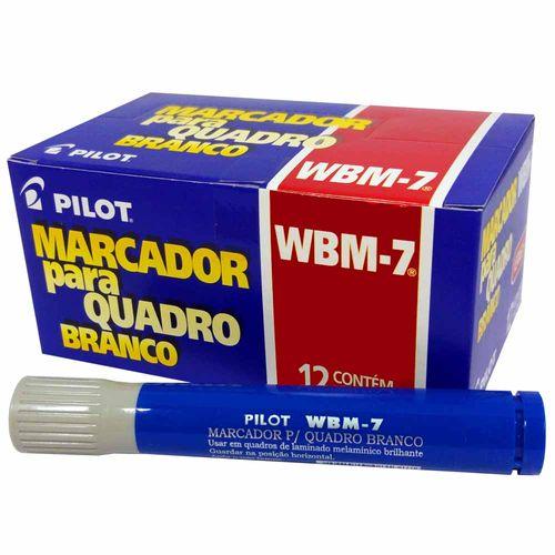 Pincel-para-Quadro-Branco-Pilot-WBM-7-Azul-12-Unidades