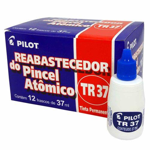Tinta-para-Pincel-Atomico-Pilot-TR37-Azul-12-Unidades