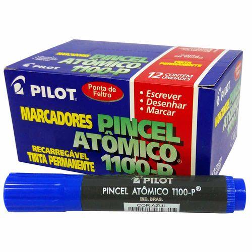Pincel-Atomico-Pilot-1100-P-Azul-12-Unidades