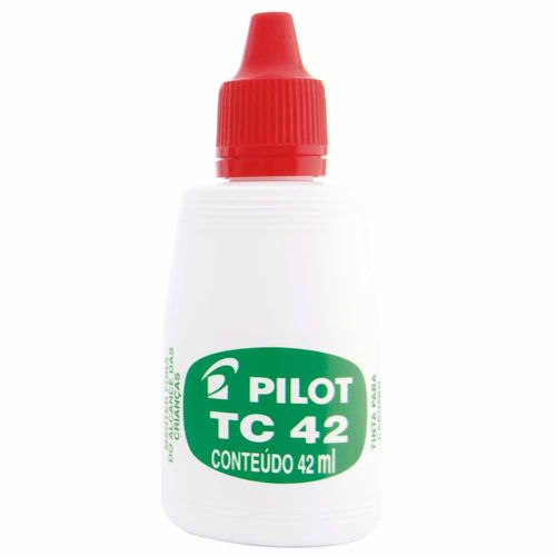 Tinta-para-Carimbo-Pilot-TC42-Vermelha