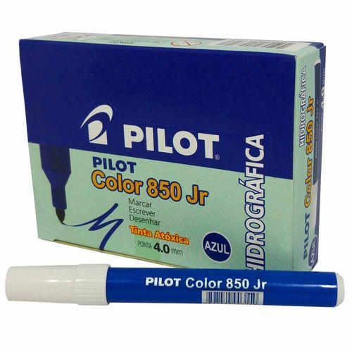 Caneta-Hidrografica-Pilot-Color-850-Jr-Azul-12-Unidades