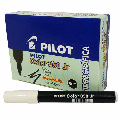 Caneta-Hidrografica-Pilot-Color-850-Jr-Preta-12-Unidades