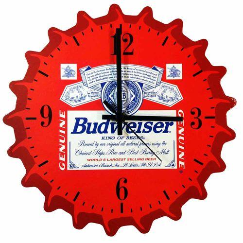 Relogio-de-Parede-Tampinha-de-Cerveja-Budweiser-Imperio-Decor