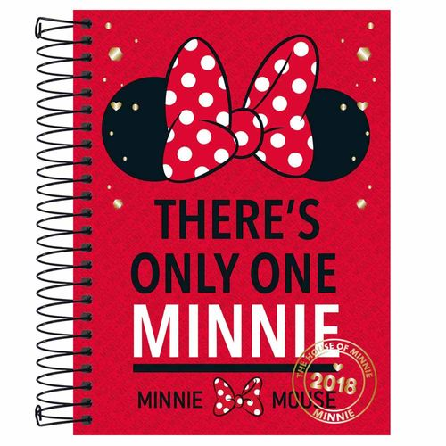Agenda-2018-Tilibra-Minnie-Vermelha