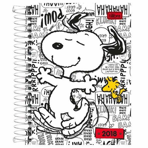Agenda-2018-Tilibra-Snoopy-Branca