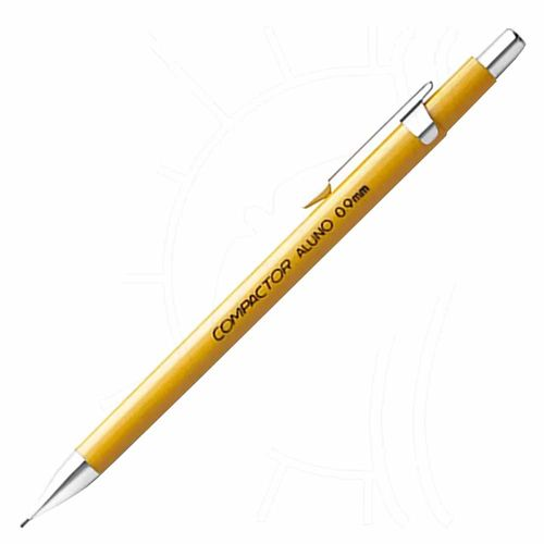 Lapiseira-Compactor-0.9-Aluno-Amarela