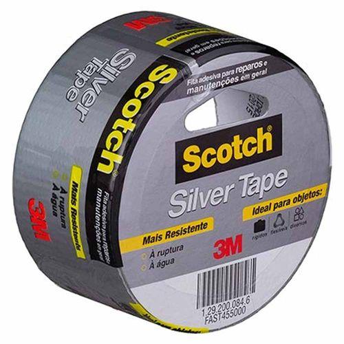 Fita-Adesiva-Silver-Tape-3M-Scotch-45x5
