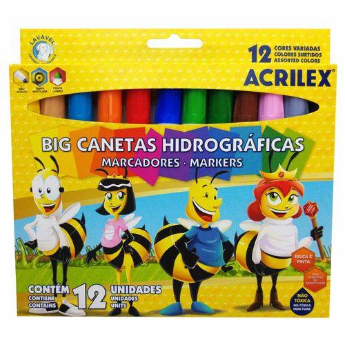 Caneta-Hidrografica-Big-Acrilex-12-Cores