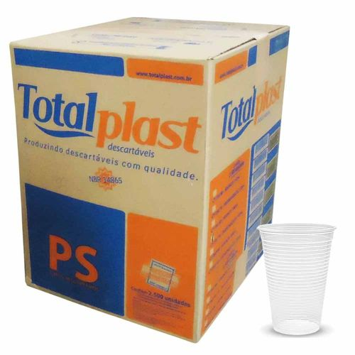 Copo-Descartavel-200ml-Totalplast-2500-Unidades