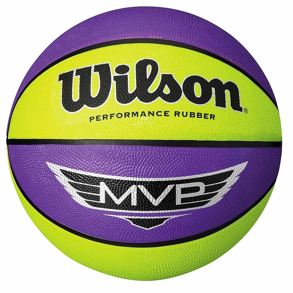 96e4791a0f Bola de Basquete Wilson MVP Amarela e Roxa - costaatacado