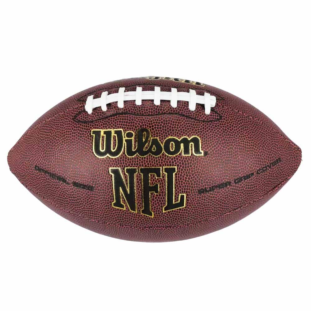 Bola de Futebol Americano Wilson NFL Super Grip Oficial - costaatacado 1407fea5bf417