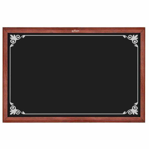 Quadro-Negro-Decorado-Madeira-50x70cm-Mogno---Souza