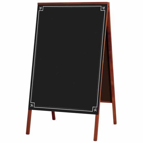 Quadro-Negro-Cavalete-Madeira-50x70cm-Mogno---Souza