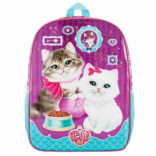 Mochila-Escolar-Jolie-Pet-Gato-Tilibra-159999