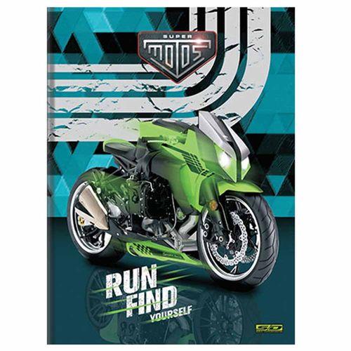 Caderno-Brochura-14-Super-Motos-96-Folhas-Sao-Domingos