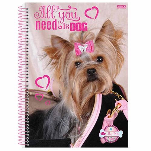 Caderno-Universitario-My-Pets-15-Materias-Sao-Domingos