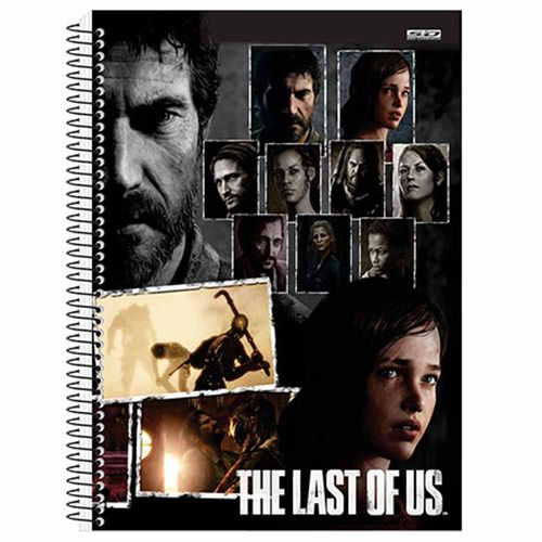 Caderno-Universitario-The-Last-of-Us-15-Materias-Sao-Domingos