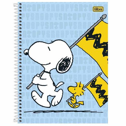 Caderneta-18-Snoopy-96-Folhas-Tilibra