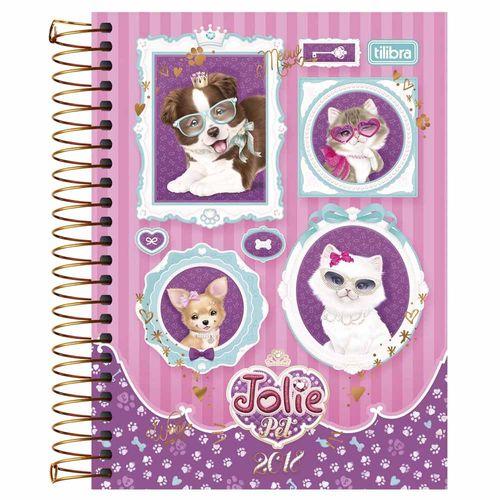 Agenda-2018-Tilibra-Jolie-Pet-Rosa
