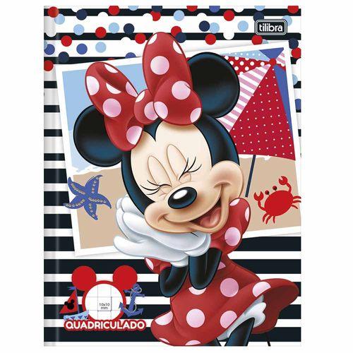 Caderno-Quadriculado-Minnie-40-Folhas-Tilibra