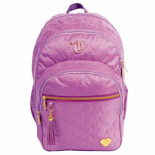 Mochila-Escolar-Capricho-Love-Purple-Dermiwil-10975