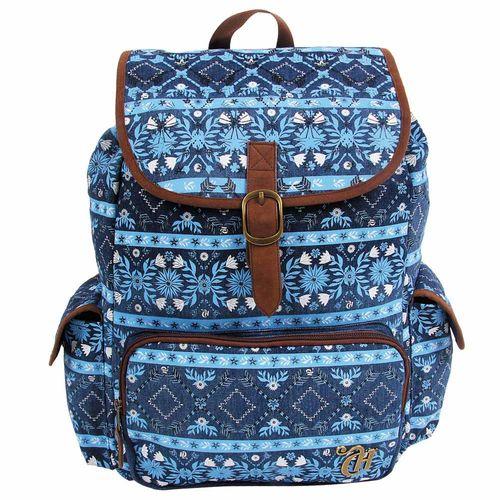 Mochila-Escolar-Capricho-Etnic-Blue-Dermiwil-10992