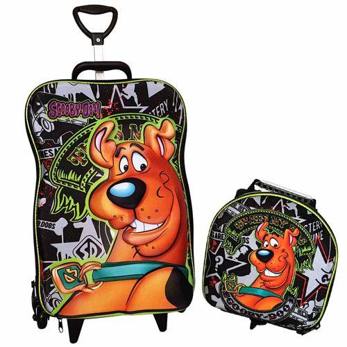 Mochila-de-Rodinha-3D-Scooby-Doo-com-Lancheira-Maxtoy