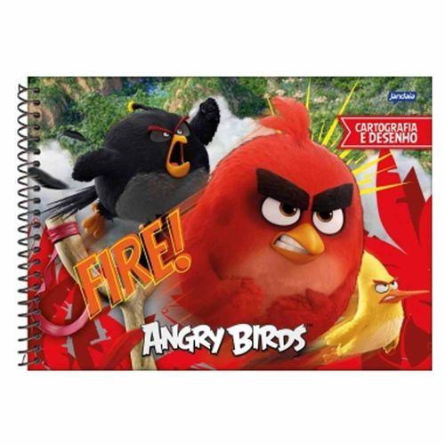 Caderno-de-Cartografia-Angry-Birds-96-Folhas-Jandaia