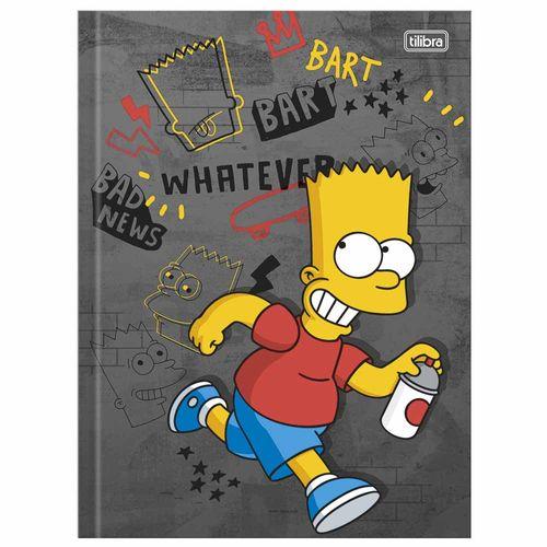 Caderno-Brochura-14-Simpsons-96-Folhas-Tilibra