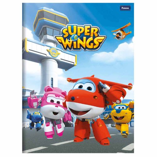 Caderno-Brochurao-Super-Wings-96-Folhas-Foroni
