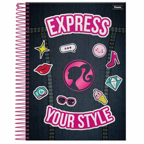 Caderno-Universitario-Barbie-Fashion-10-Materias-Foroni