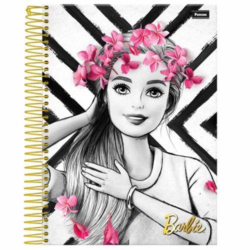 Caderno-Universitario-Barbie-Glamour-10-Materias-Foroni