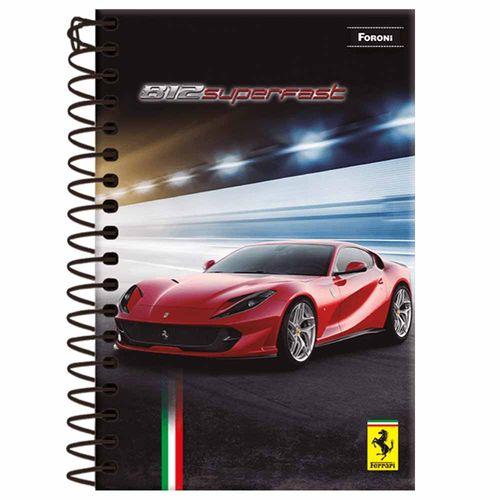 Caderneta-18-Ferrari-96-Folhas-Foroni