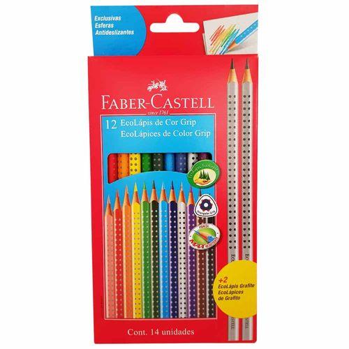 Lapis-de-Cor-12-Cores-Grip-Faber-Castell