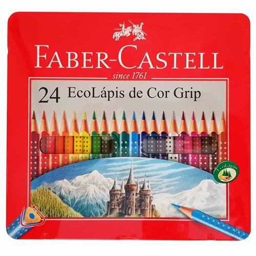 Lapis-de-Cor-24-Cores-Grip-Faber-Castell