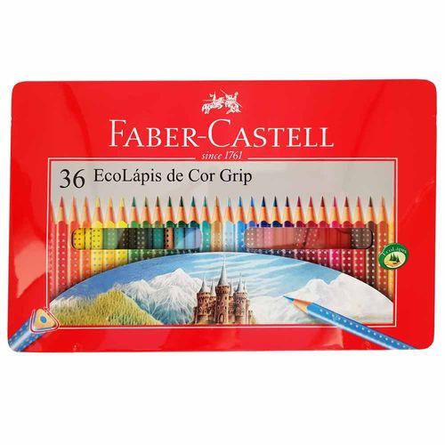 Lapis-de-Cor-36-Cores-Grip-Faber-Castell