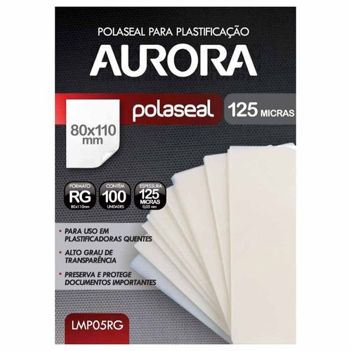 Refil-Polaseal-para-Plastificacao-RG-100-Unidades-Aurora