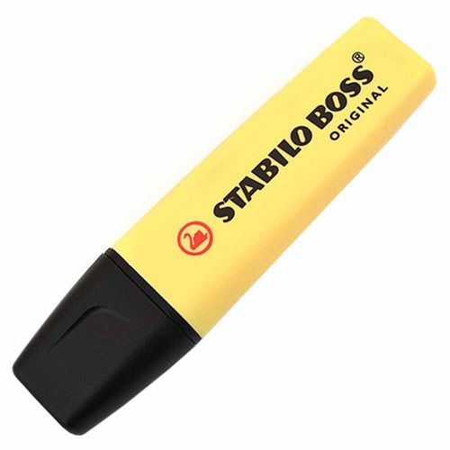 Caneta-Marca-Texto-Stabilo-Boss-Original-Amarela